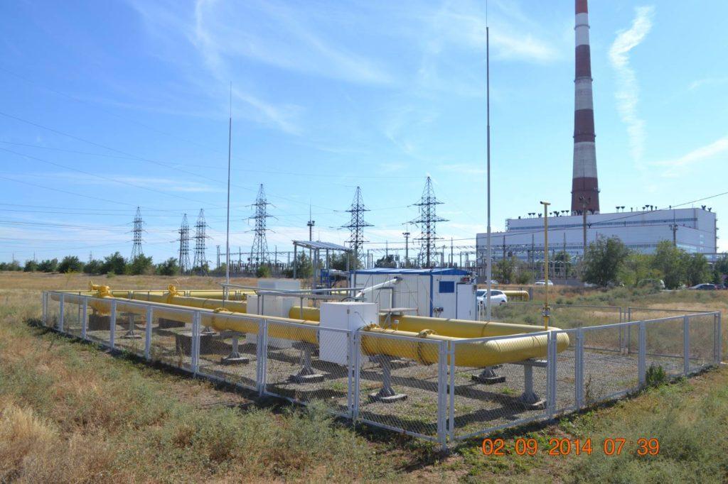 Измерительный комплекс узла учета газа - Волжская ТЭЦ-2